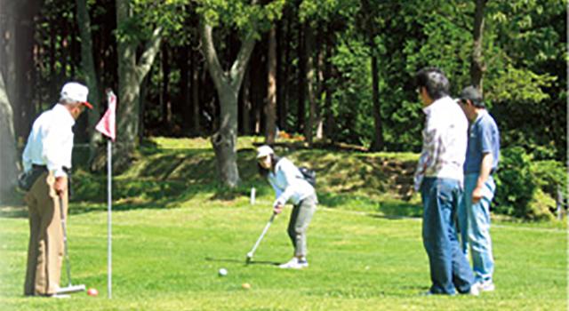 武石森林公園マレットゴルフ場