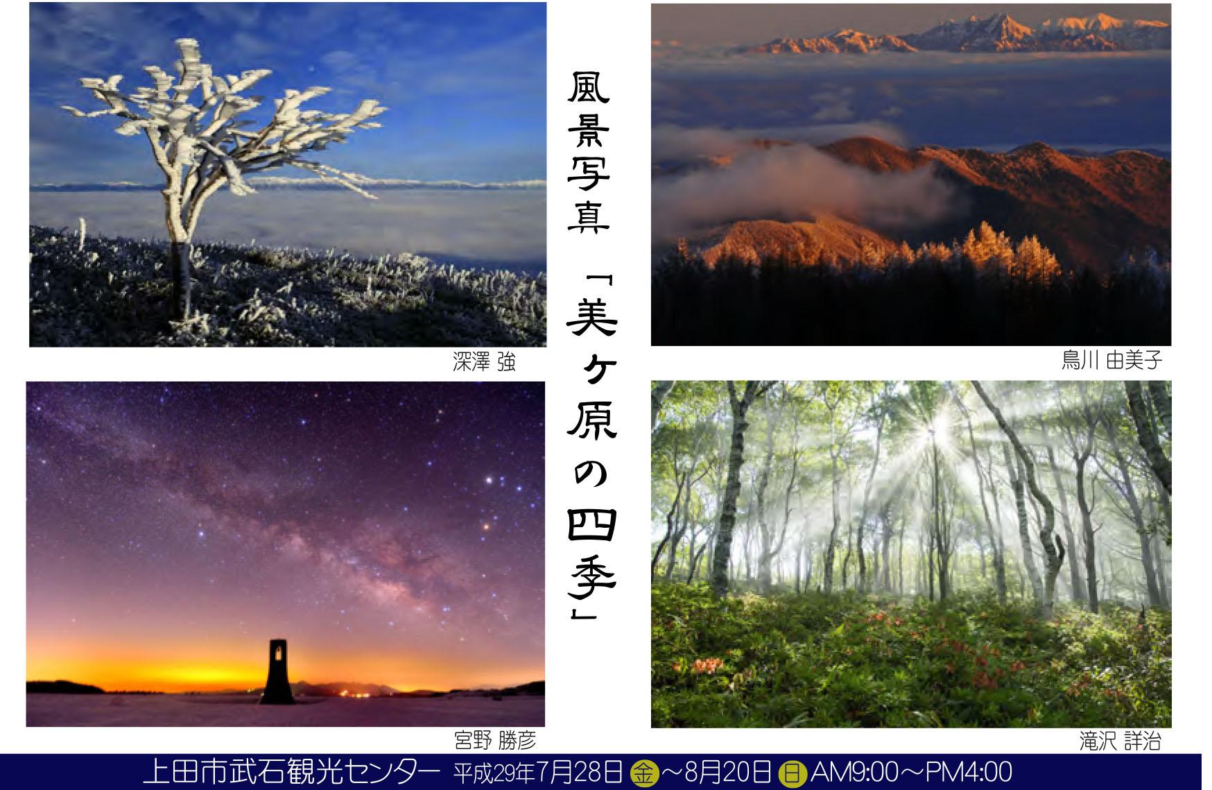 裏 美ヶ原の四季